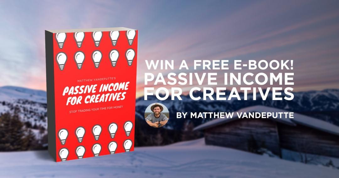 Win a free e-book! Passive income for creatives