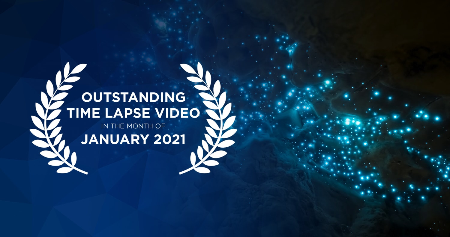Outstanding time lapse videos in the month of January 2021