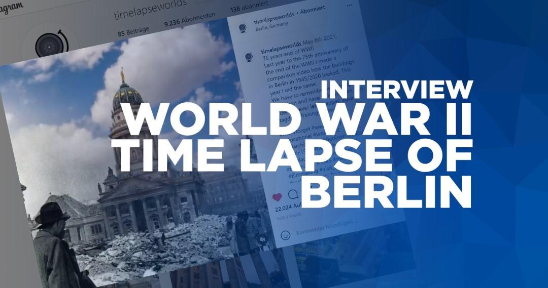 world war II time lapse of berlin