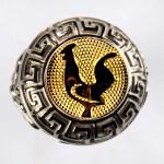 anello bianco gallo giallo