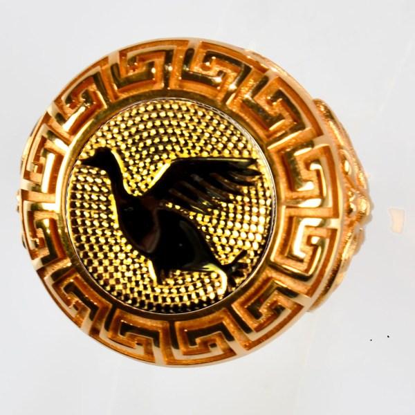 anello rosso anatra gialla