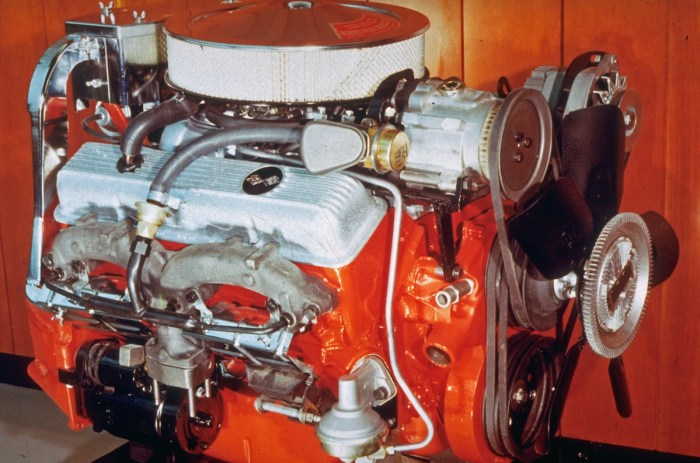 Open-element air cleaners were a giveaway that the engine beneath it was no mere grocery-getter. The Z-28's 302-inch smallblock wore one, as did the LT-1 that succeeded it in the Z-28 for 1970, which was also a Corvette option from 1970-72. . (Courtesy Chevrolet/GM Media Archives)