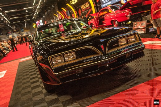 Probably one of shockers of the show, this 16,000-mile '78 Trans Am SE brought in just over $80,000 once the hammer dropped. Big bucks for a smog-era T/A, but ultimately, the seller essentially lost some cash on the deal.