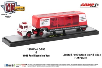 36000-22 1970 Ford C-950 & 1965 Ford Econoline Van(Chase)