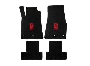 Lloyd Mats Adds New Gt350 Logos To Its Full Line Of Shelby Licensed Floor Mats - Shelby Sidemarker Red Tabletop 2015 - ON