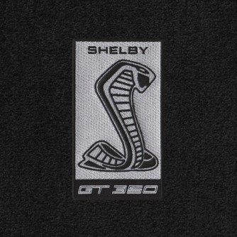 Lloyd Mats Adds New Gt350 Logos To Its Full Line Of Shelby Licensed Floor Mats - Shelby Sidemarker Silver 2015 - ON