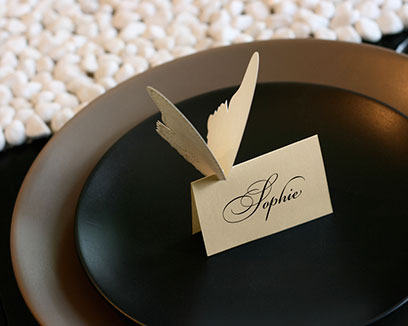 Butterfly Escort Cards