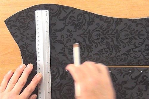 corset tutorial, how to corset making