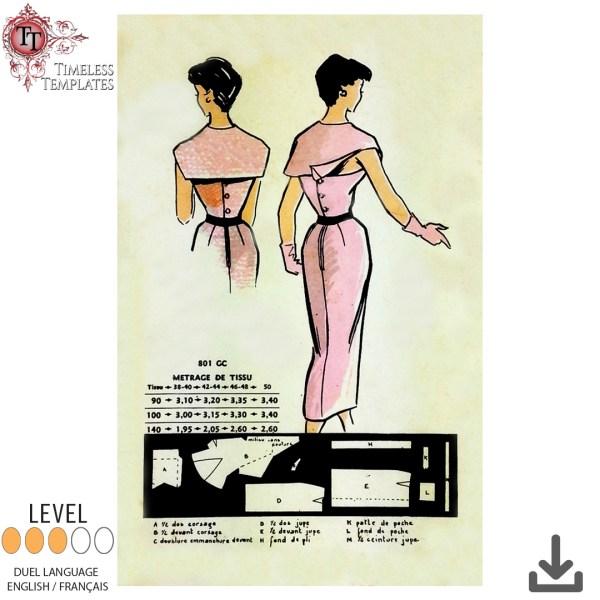 vintage rare sewing pattern