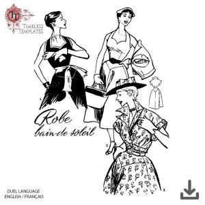 1954 mode vintage patron couture