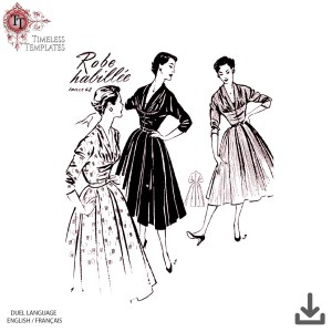 1950´s sewing patterns original french vintage