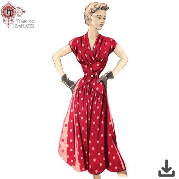 faux corset dress