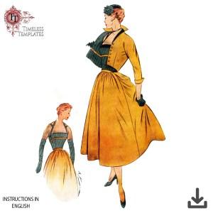 1950´s original Frech sewing pattern