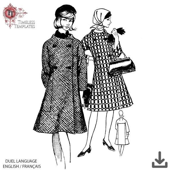 mrs maisel coat sewing pattern