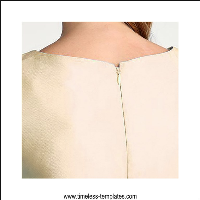 how to insert an invisible zipper