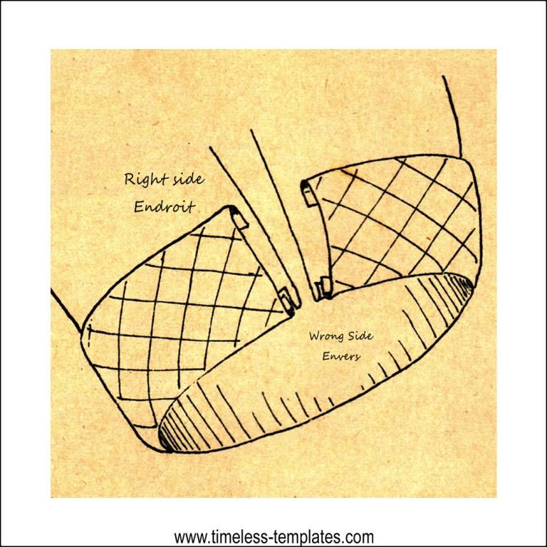 Vintage Sewing - Simple Sleeve Hems