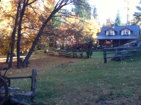 The homestead in fall