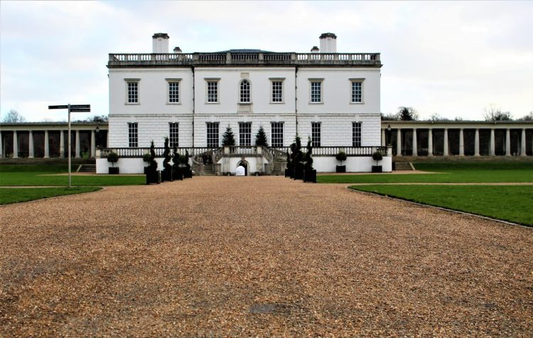 The white House in Greenwich