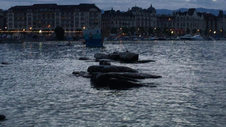 We looked forward to each evening of our 3-day so we could be here on the rocks at the lighthouse in Geneva, which made-up our perfect evening