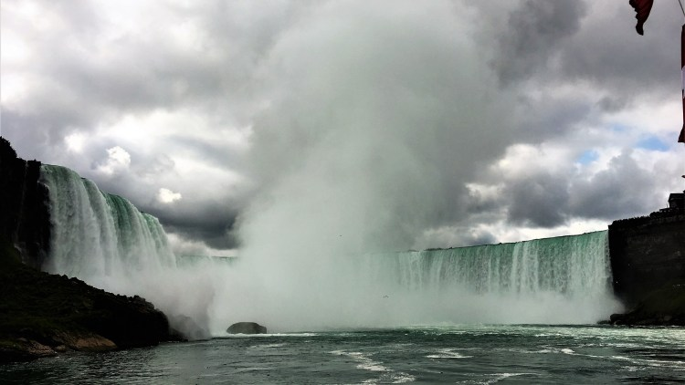 The Hornblower Cruise takes you right to the heart of the Horseshoe Falls. An incredible experience not to be missed at Niagara Falls
