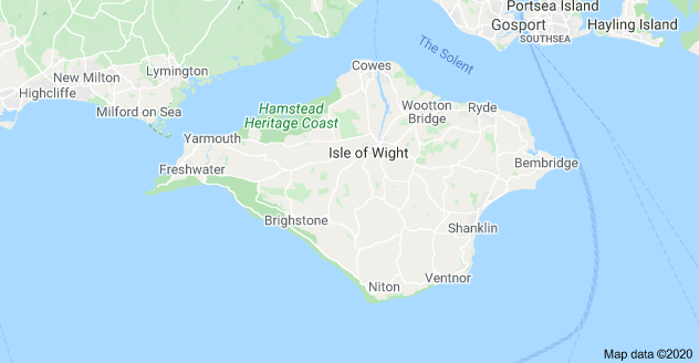 Map of IOW