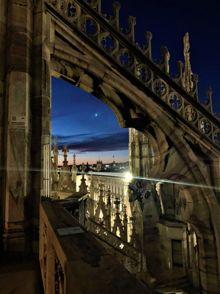 The Best of Milan – Sunset on the rooftop of the Duomo  Evening images from the rooftop of the Duomo