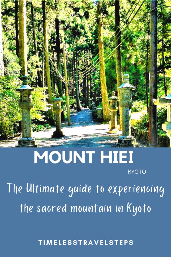 Mount Hiei Kyoto