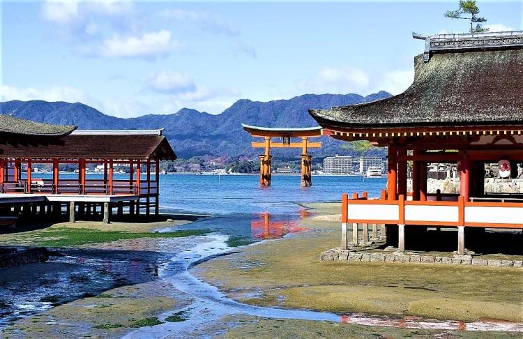 Itsukushima Shrine in Miyajima Island, Hiroshima