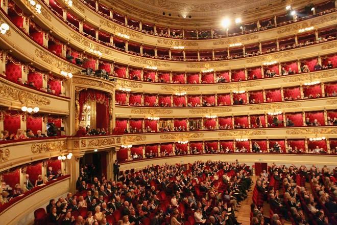 La Scala Opera House in Milan