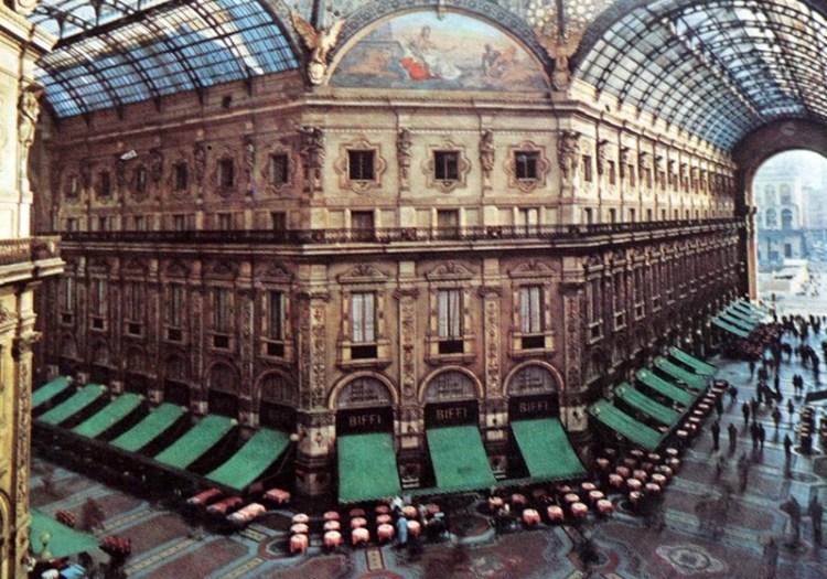 Cafe Biffi in Milan