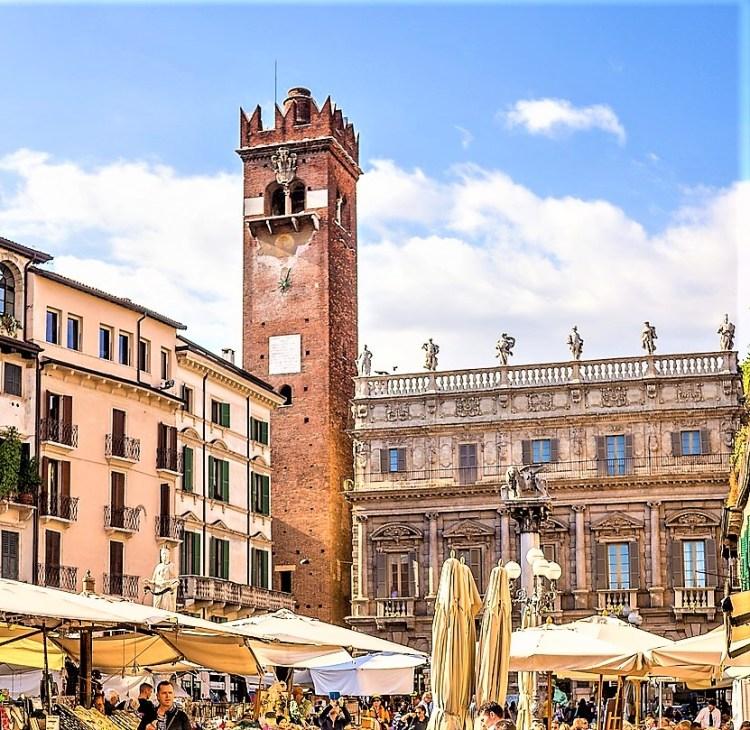 Torre del Gardello | Piazza delle Erbe | Verona