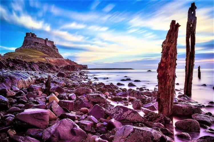 Holy Island, Lindisfarne, England