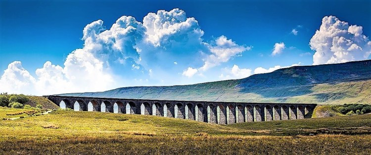 Ribblehead Viaduct | Settle to Carlisle Railway | Train Travel in UK