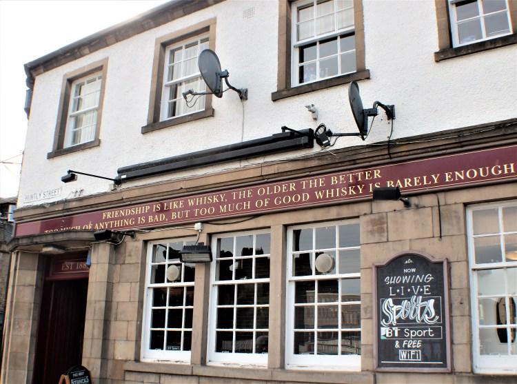 Inverness pub.