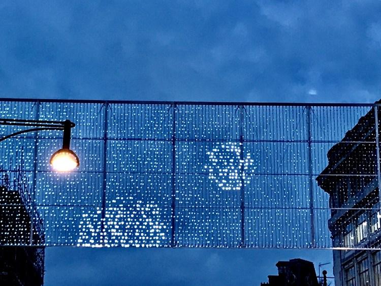 Christmas Lights Oxford Street, London