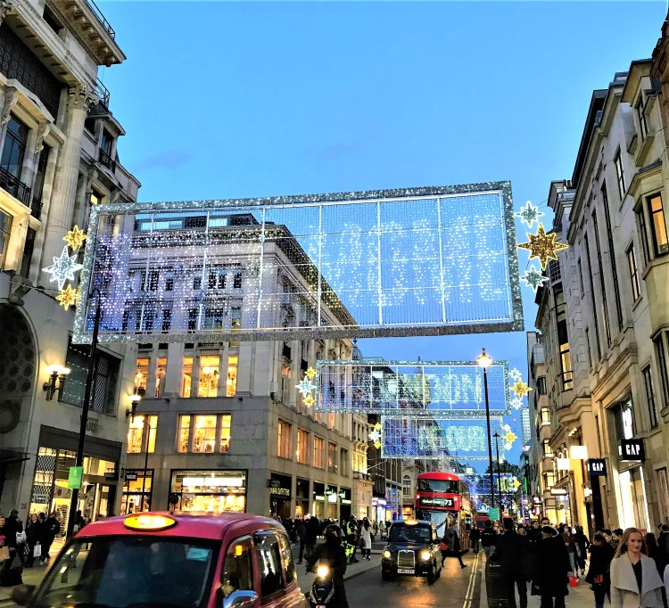 Top 4 London's Christmas Lights Display