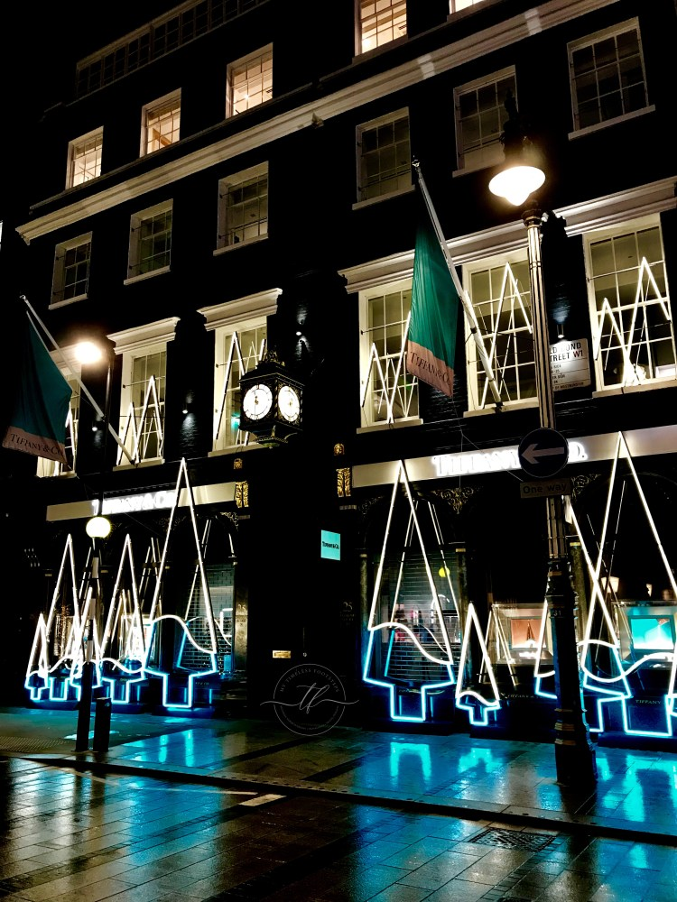 Tiffany's New Bond Street | Best Christmas Lights in London