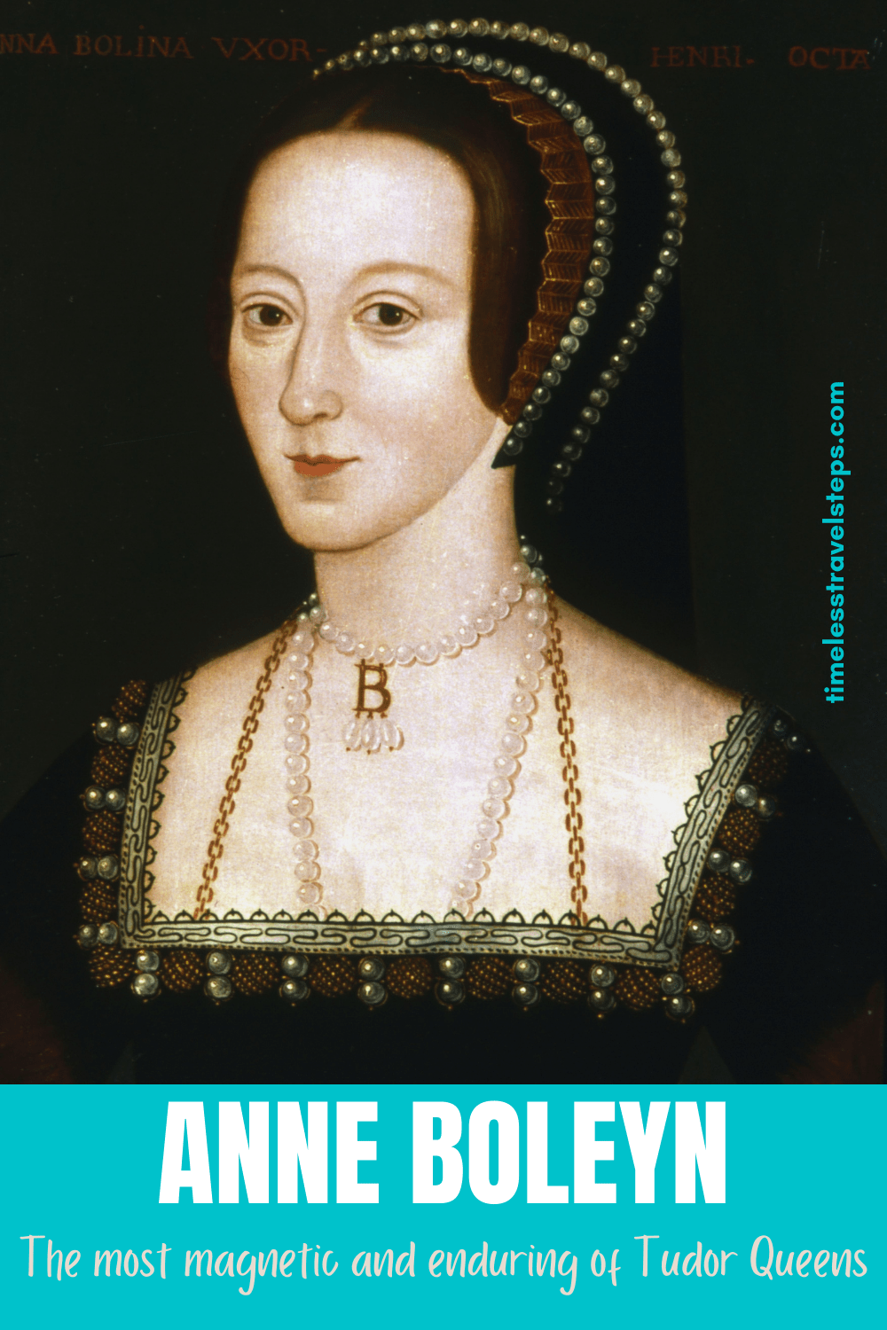 Even after 500 years the name Anne Boleyn commands attention and research making her the most magnetic and enduring of Tudor Queens. Read her story | Anne Boleyn | History of Britain | Tudor Queen | Tower of London | via @GGeorgina_mytimelessfootsteps/