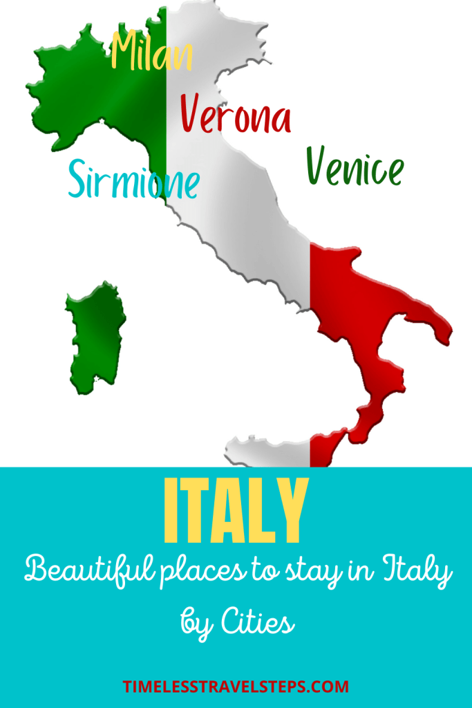 Places to Stay in Italy by Cities