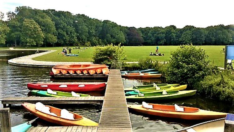 Amsterdam Bos kayaking