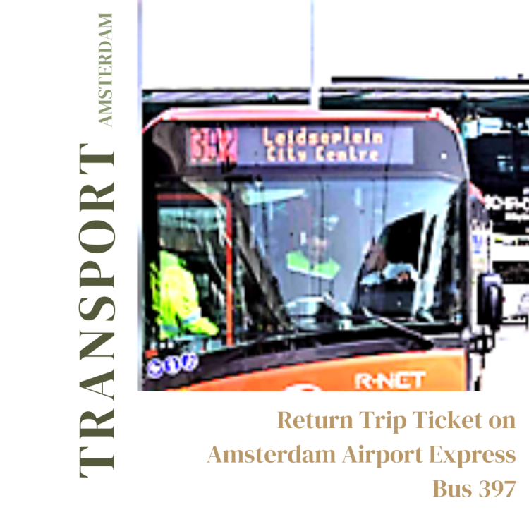 Amsterdam Airport Express Bus 397