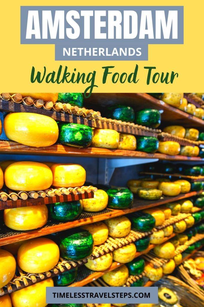 Walking food tour in Amsterdam