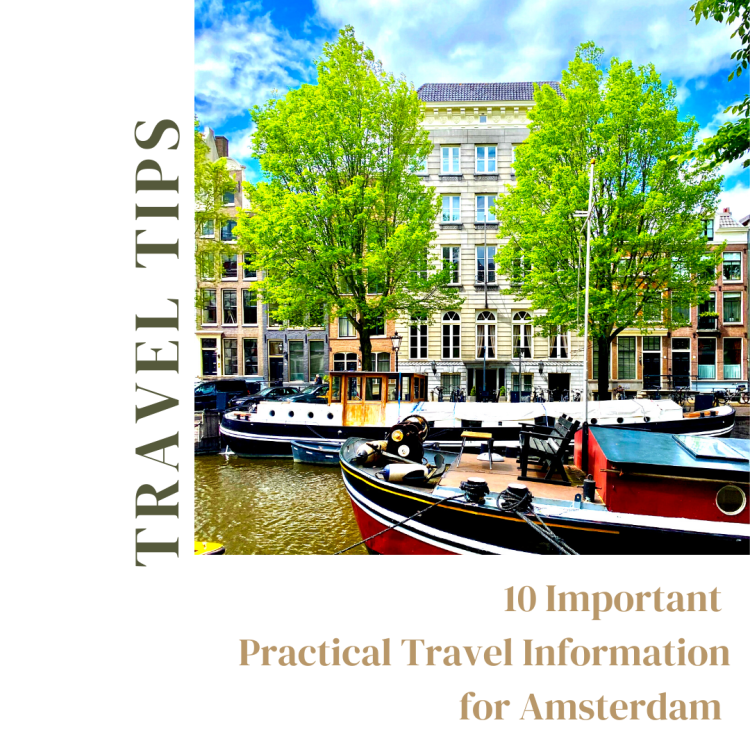 10 practical travel information for Amsterdam