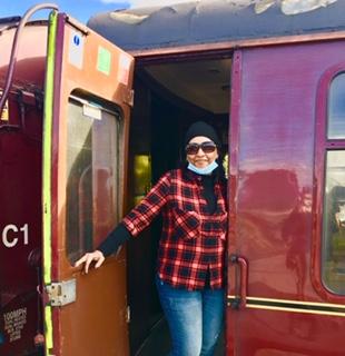 Georgina_Highlands and Steam Train tours