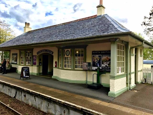Glenfinnan Train Station The Highlands