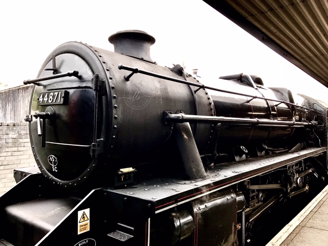 the 44871 Jacobite Steam Train at  Fort William