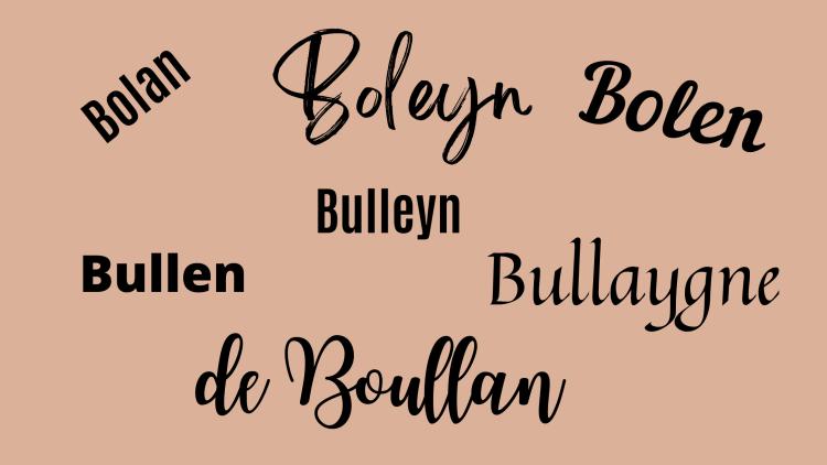 the Boleyn lineage