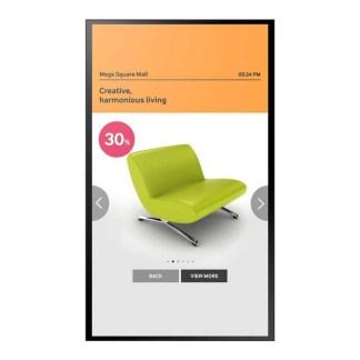 Интерактивная сенсорная панель Samsung PM55F-BC