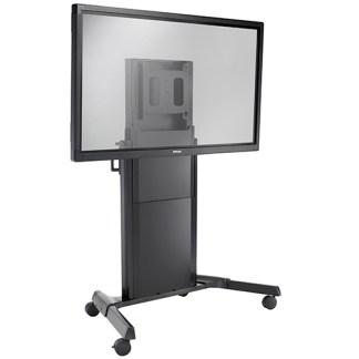 XPD1U напольная стойка с колесами для интерактивной панели