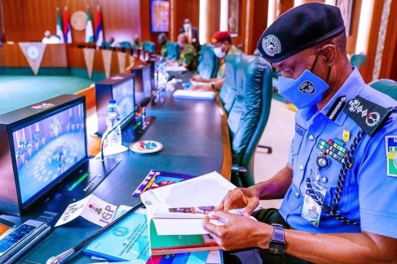 President Buhari presides over National Security Council meeting (photos)
